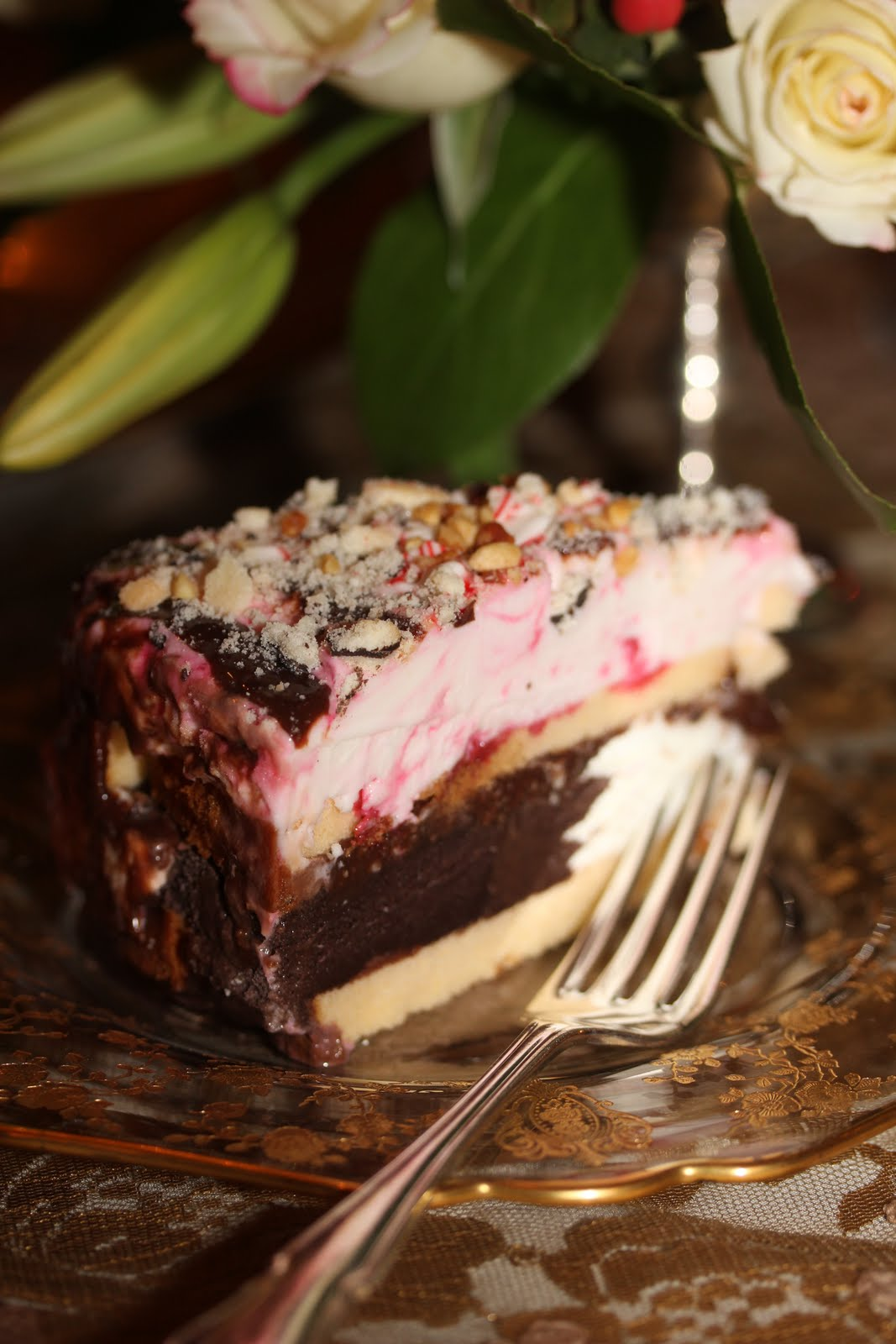 Romancing The Home Christmas Ice Cream Cake