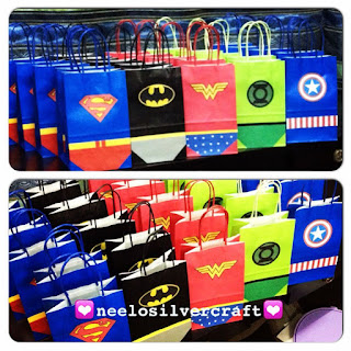 superhero goodiesbag