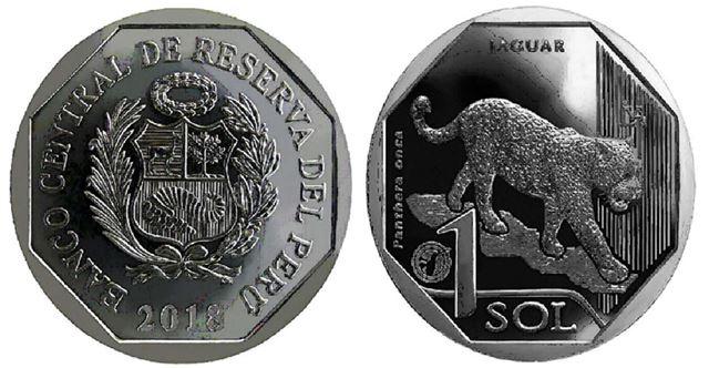 Moneda alusiva al Jaguar