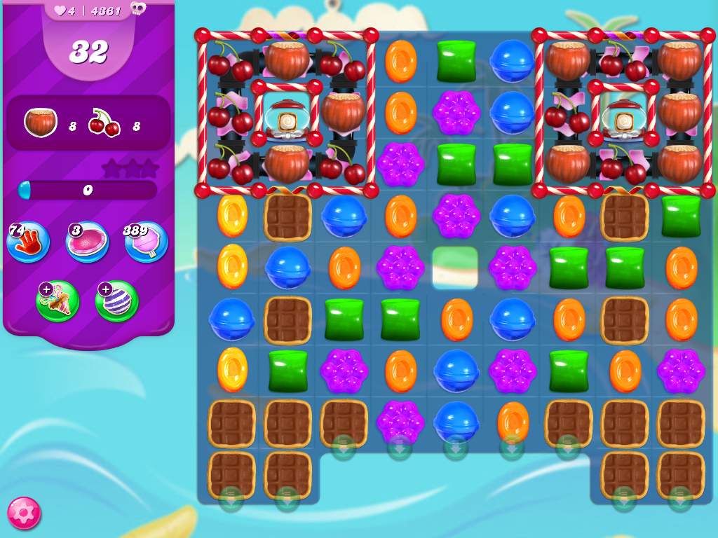 Candy Crush Saga level 4361