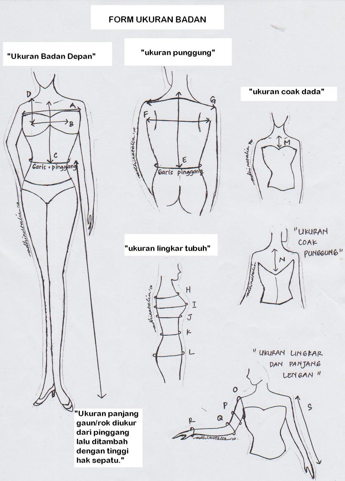 Halak Hita Fashion Cara Mengukur Badan Untuk Menjahit