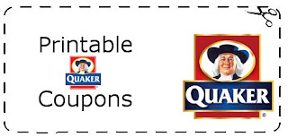 Quaker Cereal Coupons   Printable Grocery Coupons