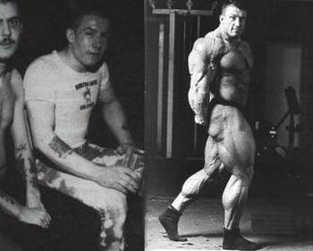 Dorian Yates before and after