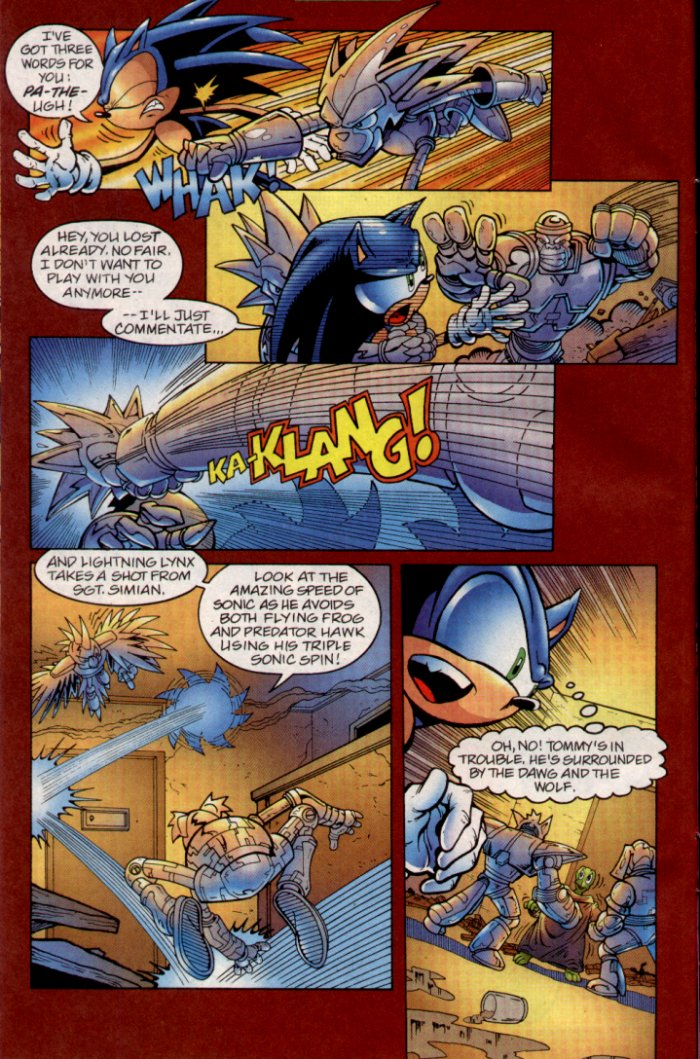 Read online Sonic The Hedgehog comic -  Issue #135 - 9
