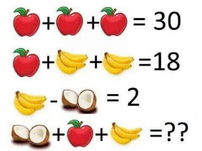 حل لغز التفاحة والدودة