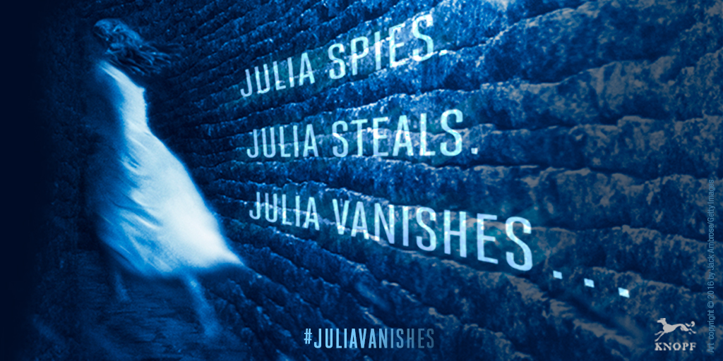 Reading Is Better With Cupcakes Blog Tour Julia Vanishes By