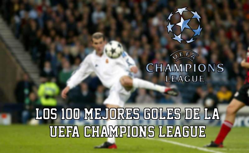 Goles Champions League
