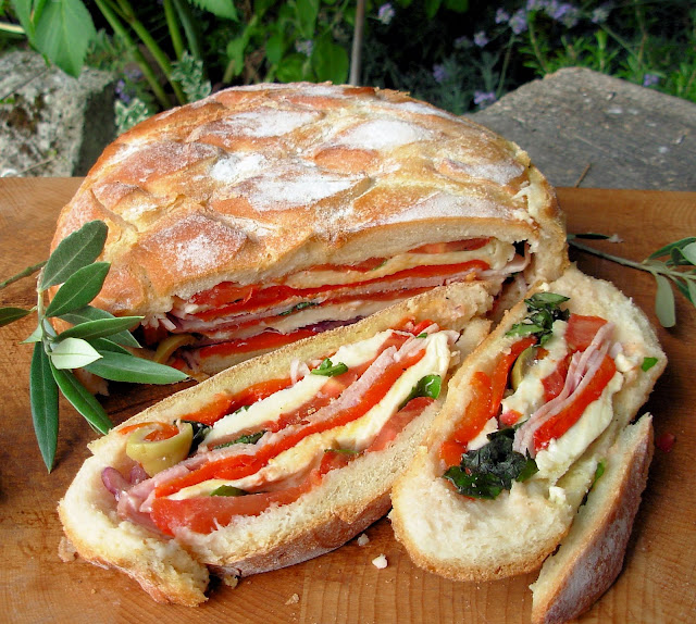 A French Summer Picnic Sandwich