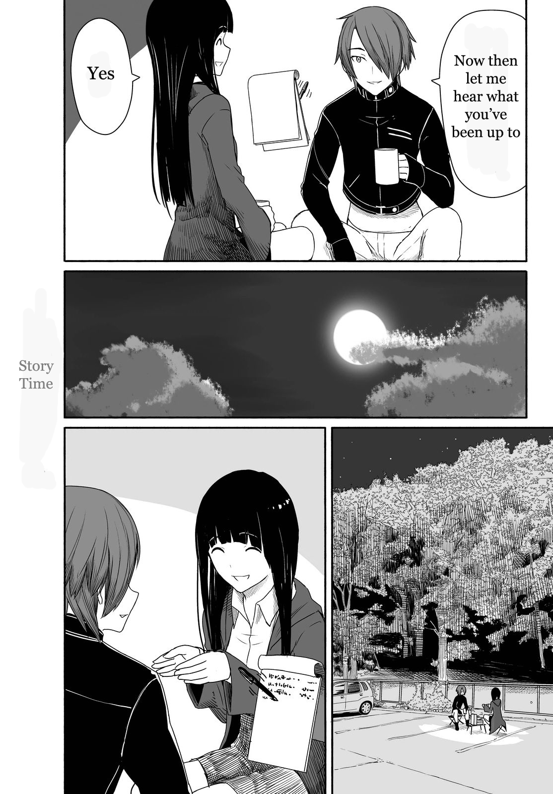 Flying Witch - Chapter 27