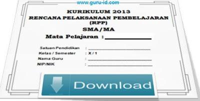 gambar download RPP Pendidikan Agama Dan Budi Pekerti Kurikulum 2013 SMA