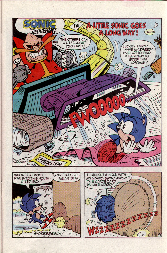 Read online Sonic The Hedgehog comic -  Issue #8 - 20