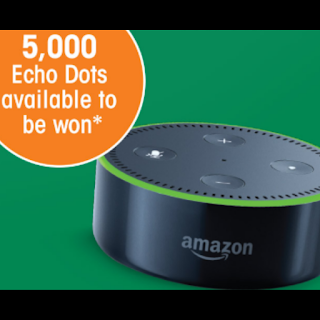 Win 1 of 5000 Echo Dot's With TIC TAC