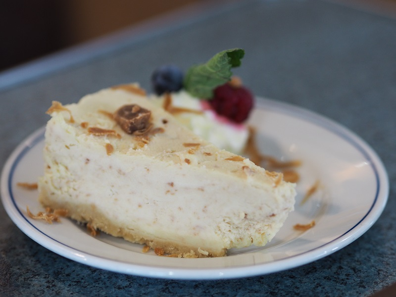 Northlink Ferries' Orkney fudge cheesecake