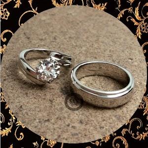 cincin paladium perak p5039