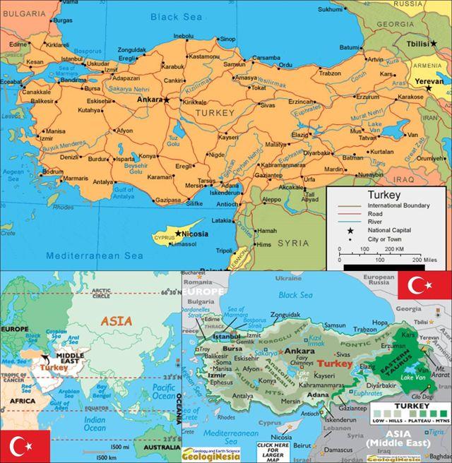 Peta Turki