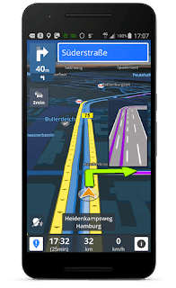 Sygic GPS Navigation & Maps v17.3.22 Patched APK is Here !