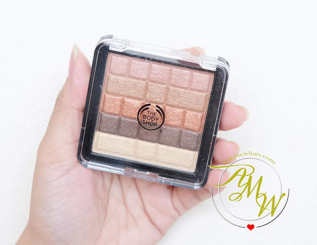 a photo of The Body Shop Shimmer waves review in 01 Bronze by Nikki Tiu of www.askmewhats.com