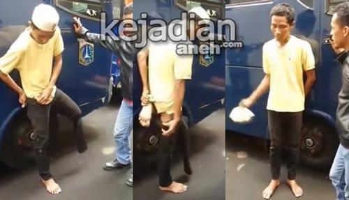 pengemis pura pura buntung 7 Modus Pengemis Gadungan di Jakarta