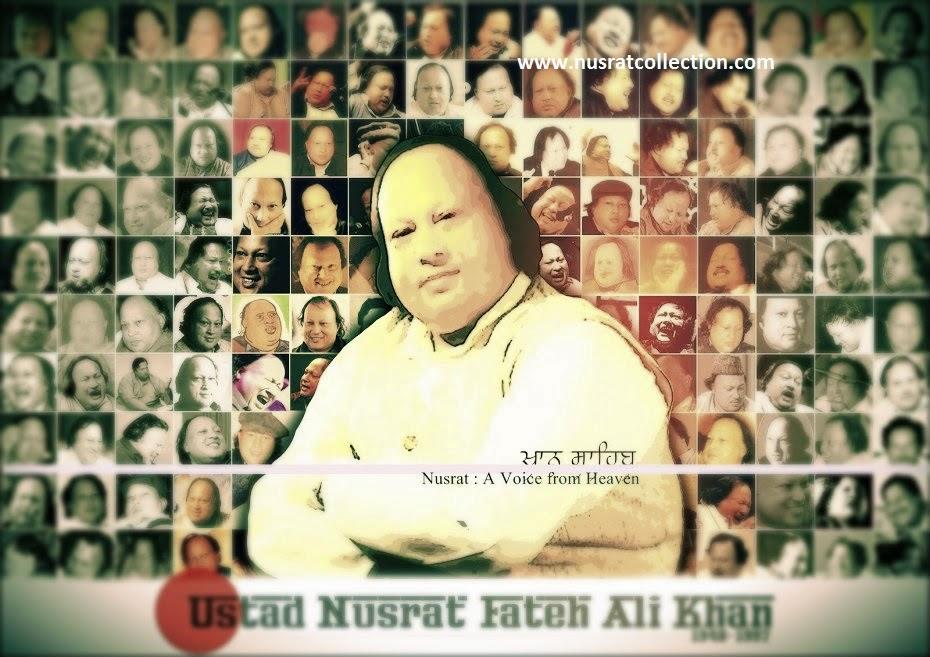 Lyrics Haje Latha Nahio Ankhiyan Da Chaa Ghazal Nusrat Fateh Ali Khan