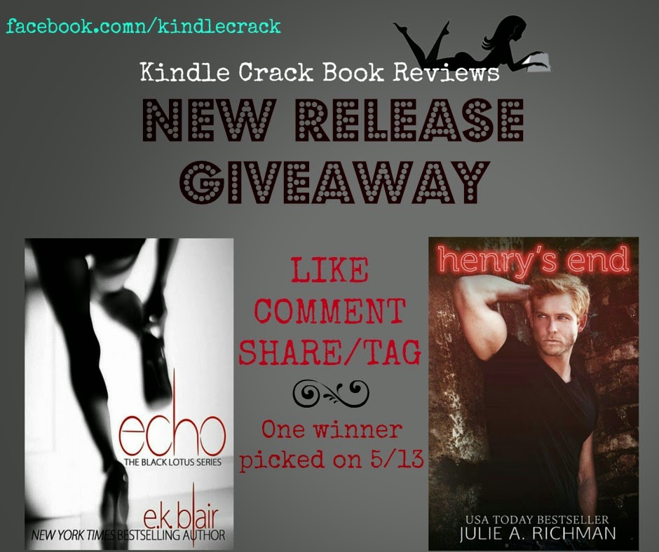 Kindle Crack Book Reviews Blog: RELEASE DAY GIVEAWAY