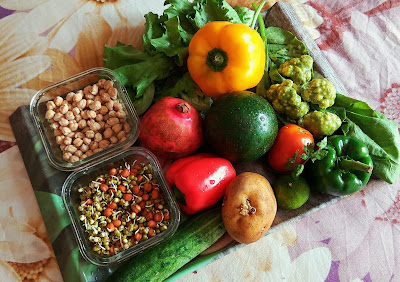 Right Iron Absorption Salad Recipe Ingredients