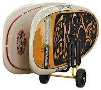 trailer for 2 paddleboards