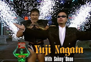 WCW Halloween Havoc 1997 review - Yuji Nagata (w/ Sonny Onoo) faced Ultimo Dragon