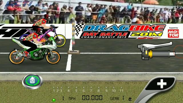 Download Game Drag Bike Apk Buat kalian yang suka main game jenis balap, file ukuran kecil dengan mod unlimited money terbaru 2019.