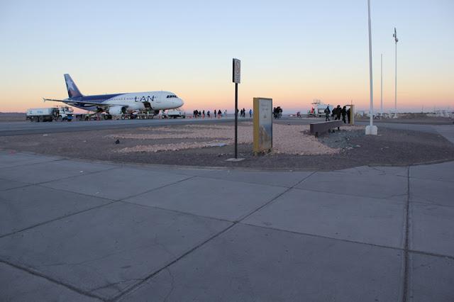 Diferentes voos e tempo de avião até San Pedro de Atacama