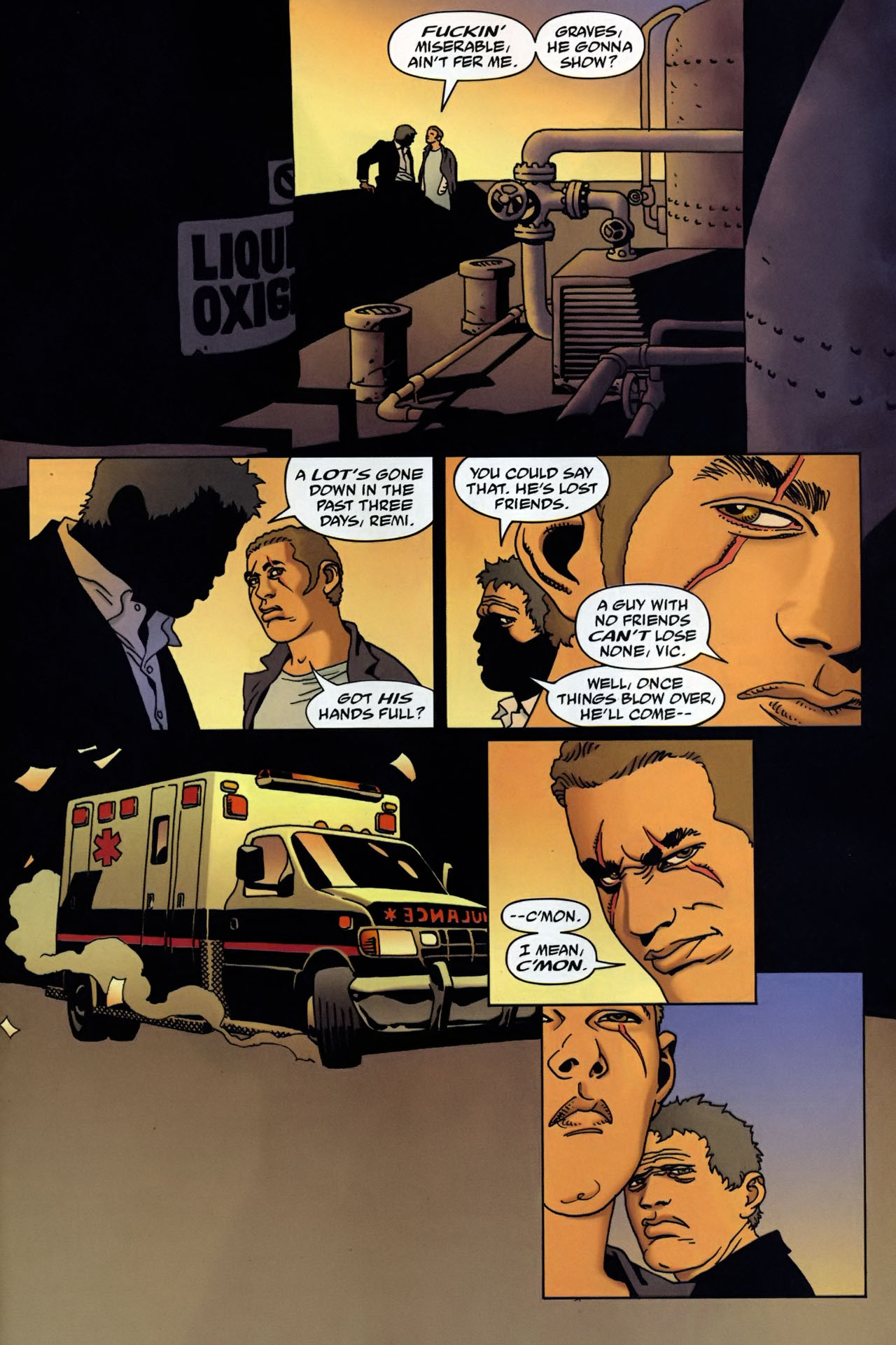 Read online 100 Bullets comic -  Issue #95 - 19