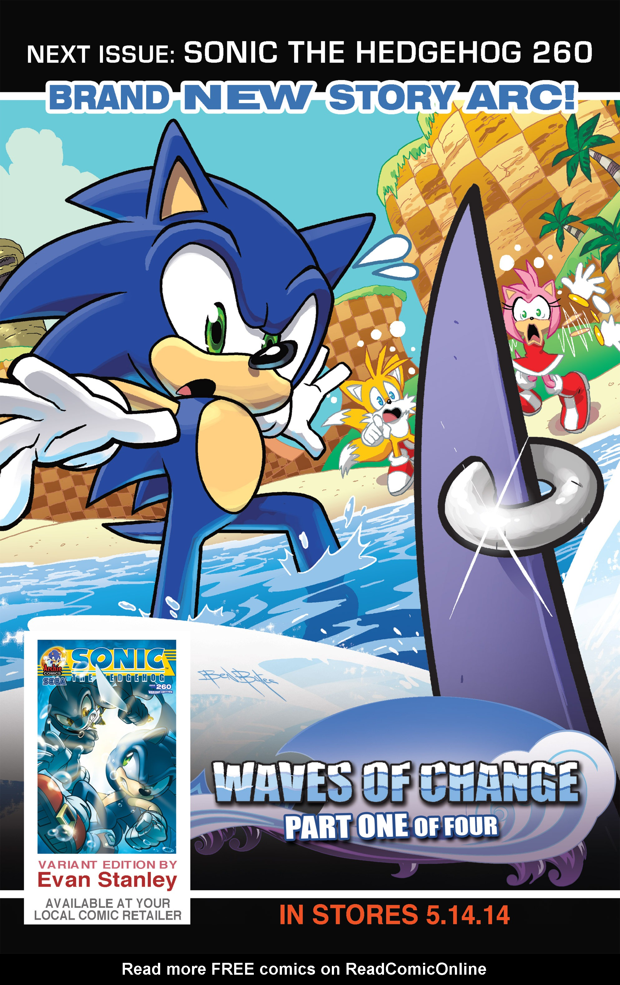 Read online Sonic The Hedgehog comic -  Issue #259 - 22