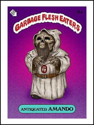 Zombies Meet Garbage Pail Kids (art by Omar Hauksson) - Amando