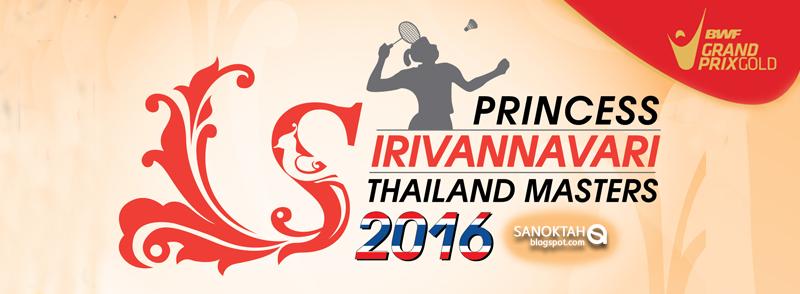 Badminton Thailand Masters 2016