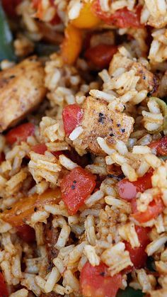 Easy Cajun Chicken And Rice Recipe