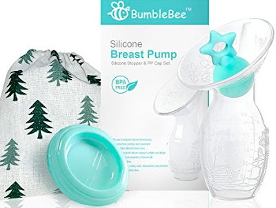 Bumblebee Breast Pumps - Manual Breastfeeding Hand Pump for Nursing Mothers