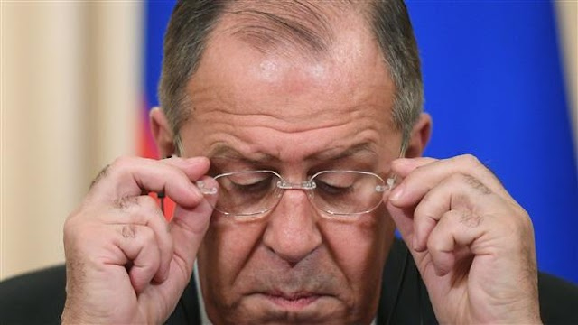 Russian Foreign Minister Sergei Lavrov slams Washington's latest round of anti-Russia sanctions