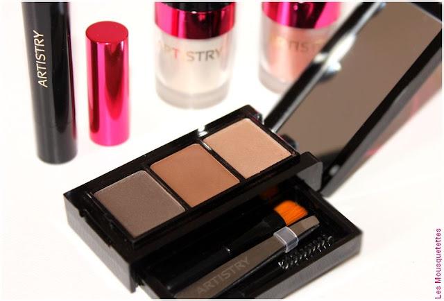 Artistry - Spring Make Up Collection - Kit à sourcils - Blog beauté