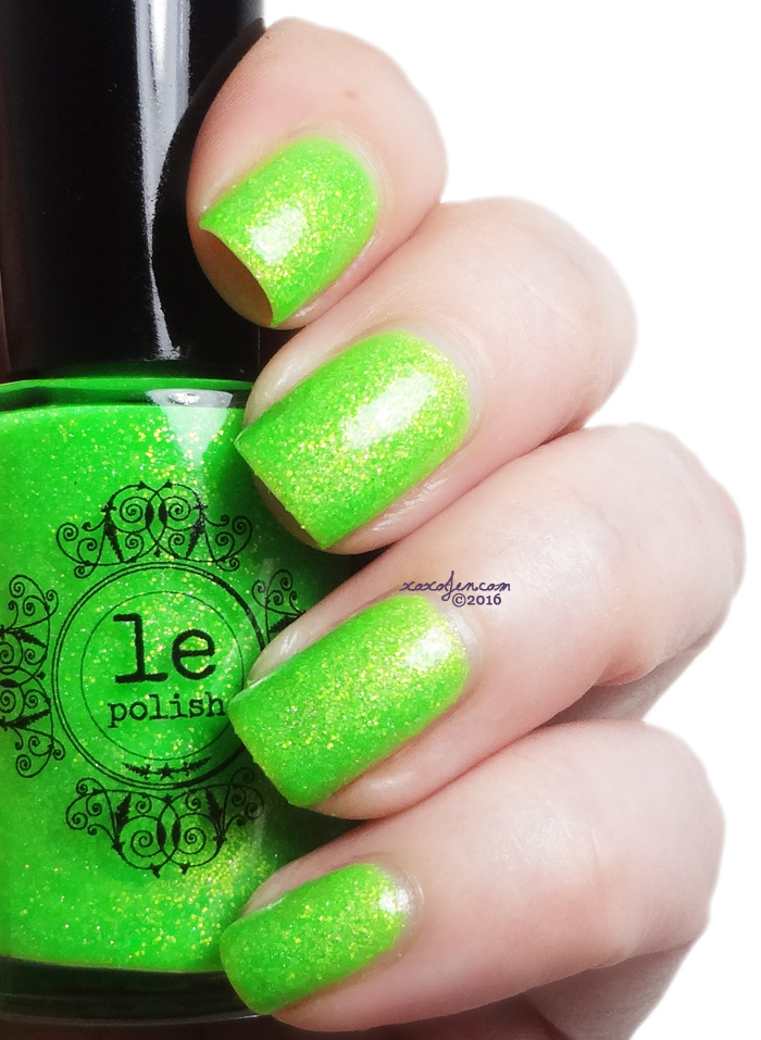 xoxoJen's swatch of LE Polish He'll Eat Anything