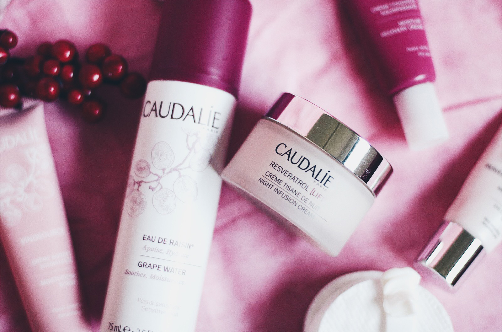 caudalie vinosource reservatrol lift tisane de nuit avis test