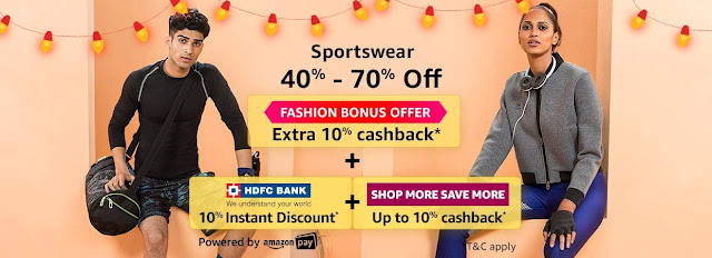 FASHION SPORTSWEAR 40% to 70% off