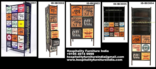 Industrial painted furniture