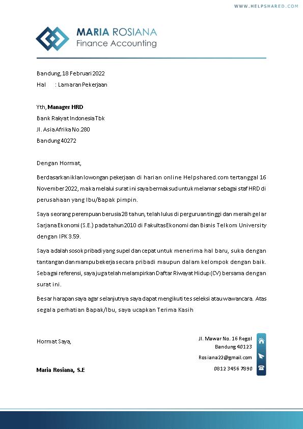 Kop Surat Lamaran Kerja 16