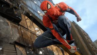 Spider-Man PS4 Background