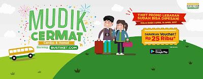 Promo Tiket Bus untuk Mudik Lebaran 2017