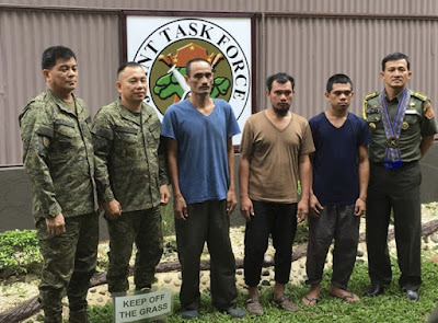 Militan Filipina Bebaskan Tiga Sandera Indonesia