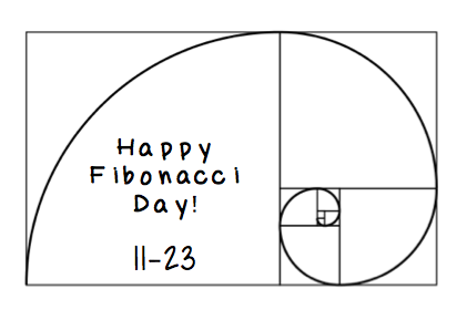 Teaching High School Math: Happy Fibonacci Day!
