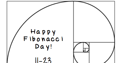 Teaching High School Math: Happy Fibonacci Day!