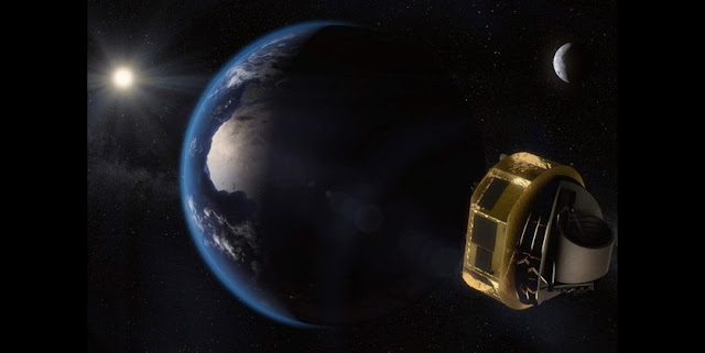 Artist impression of ARIEL. Image Credit: ESA/STFC RAL Space/UCL/Europlanet-Science Office