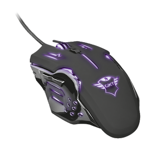 TRUST MOUSE GAMING LED GXT108 22090