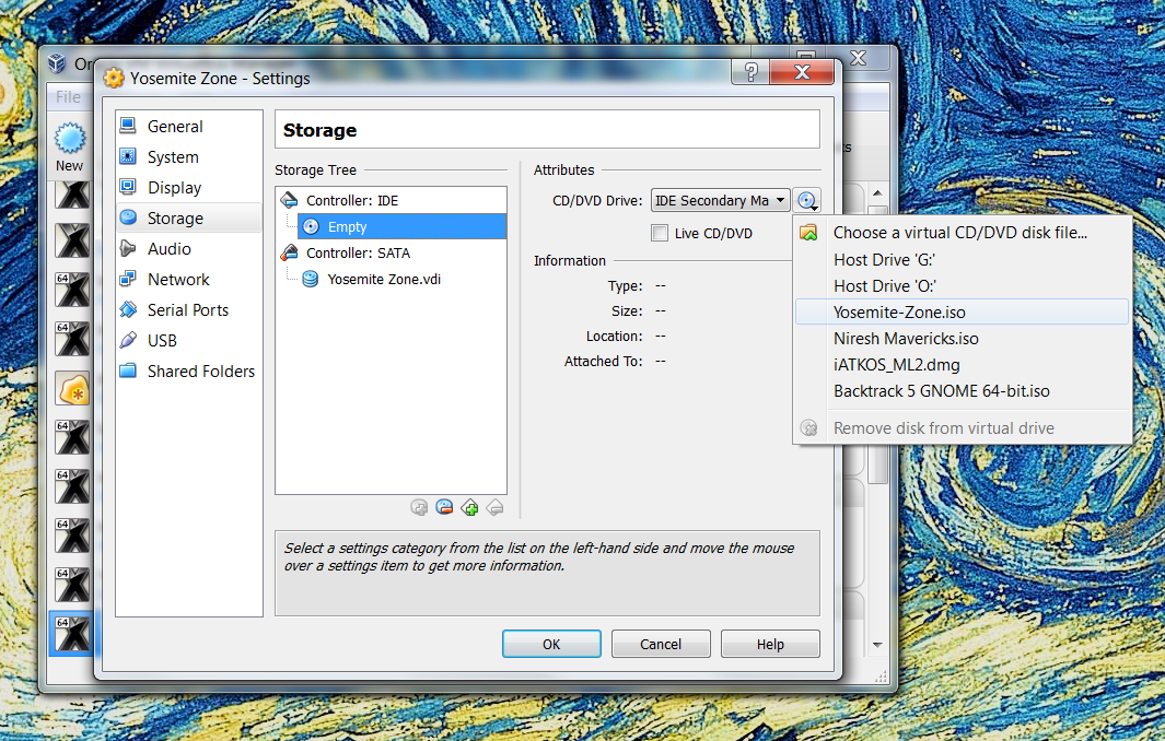 How to install OS X Yosemite in Virtualbox with Yosemite Zone